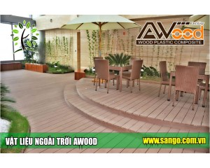 Sàn gỗ, vật liệu ngoài trời Awood - Nhà tài trợ chính tại Vietbuild 2015