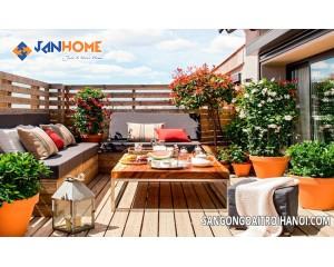Những thông tin cần biết về bàn ghế ngoài trời được phân phối bởi Janhome