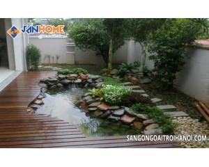 Quy trình vệ sinh và bảo quản sàn gỗ ngoài trời đúng cách