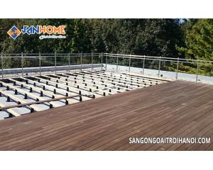 Lắp đặt sàn gỗ ngoài trời vô cùng đơn giản, bạn đã biết chưa?