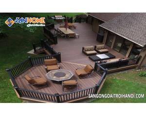 Thông tin hai loại sàn gỗ nhựa ngoài trời đang được sử dụng phổ biến tại Việt Nam
