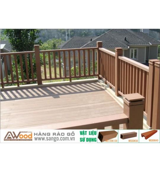 Nhà cung cấp Sàn gỗ ngoài trời Awood uy tín chất lượng tại Hà Nôi