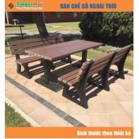 Bàn ghế gỗ ngoài trời TimberMan GTM09