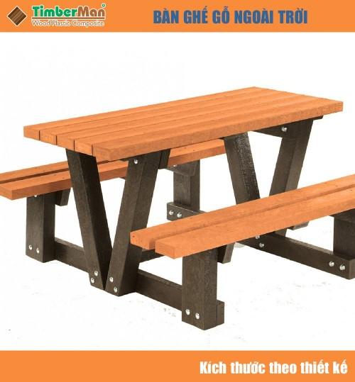 Bàn ghế ngoài trời ban công TimberMan GTM01
