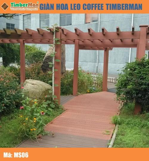 GIÀN HOA LEO COFFEE TIMBERMAN