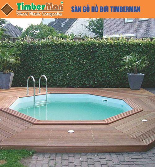 Sàn gỗ hồ bơi Timberman