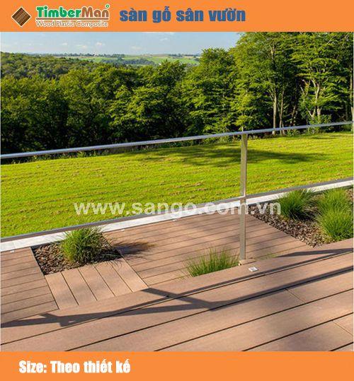 Sàn gỗ sân vườn Timberman