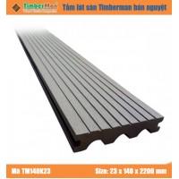 SÀN GỖ NGOÀI TRỜI HÀ NỘI TIMBERMAN -  Tấm lát sàn bán nguyệt TM140K23
