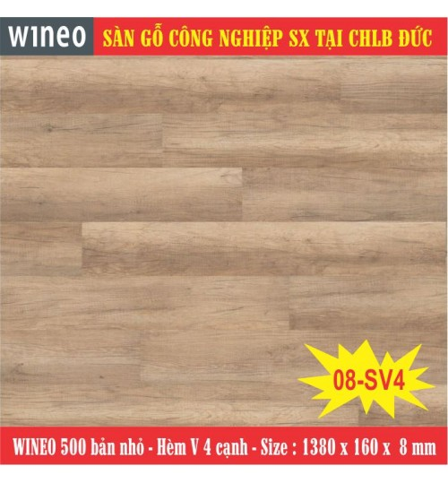 Sàn gỗ WINEO 08-SV4