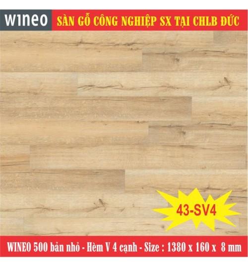 Sàn gỗ WINEO 43-SV4